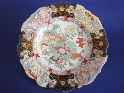 Lovely Mason's Patent Ironstone China 'Floral Sprays' Pattern 2790 Dessert Plate c1830 #2